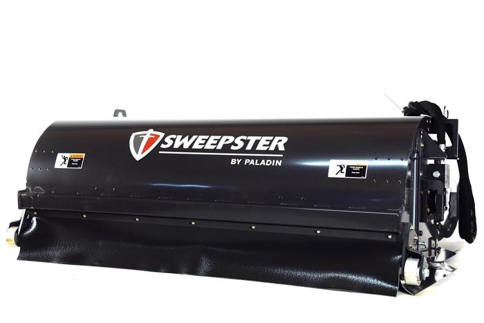 Sweepster Skid Steer Skidsteer Hopper Broom Pick Up