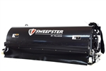 "Sweepster Skid Steer, Skidsteer, Hopper Broom, Pick up sweeper, 84"" Poly or Poly/Wire Brush, 10-18 or 15-25 GPM"