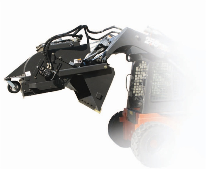 Sweepster Skid Steer Skidsteer Dump Bucket Broom Pick