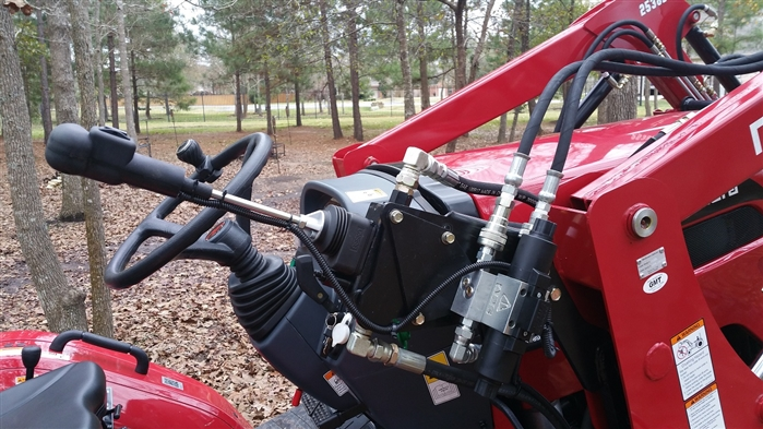 3rd function auxiliary hydraulic kits for all brands of tractors and