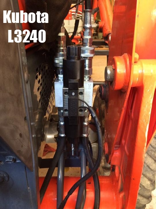 Tractor Loader 3rd Function Hydraulic Kit