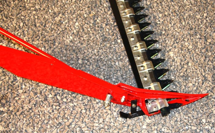 7 Foot 3 Point Tractor Sickle Bar Mower with Hydraulic Lift