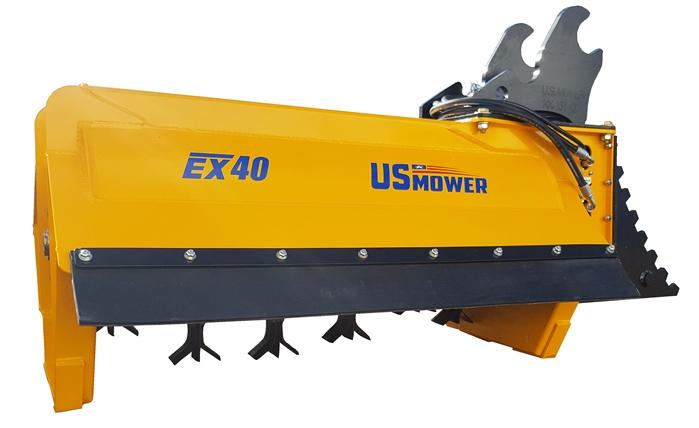 US Mower EX40 Excavator Flail Shredder