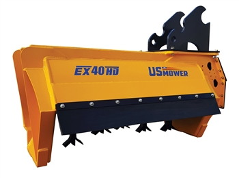 US Mower EX40HD Flail Mower For Excavators
