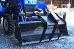 W R Long Bucket Grapple bolts on to your loader bucket
