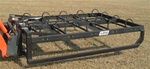 W R Long Hay Grapple Universal Skid Steer Quick Attach or hitch choice