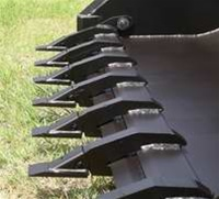 W R Long Industrial Tooth Bar For Tractors And Skid Steers Add A