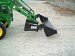 W.R. Long Ultra Jaw 2 4 in 1 Multipurpose Bucket For Compact Tractors