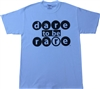 Youth crew neck T Shirt with dare to be Rare in  Bubble
