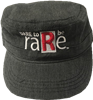 Black Military Hat with Dare to be raRe logo