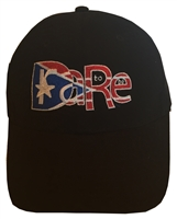 Baseball hat with PR DTBR logo