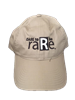 khaki hat with DARE to be raRe logo