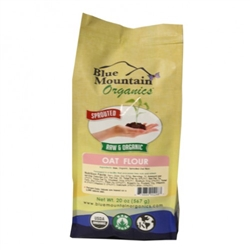 Raw Sprouted Oat Flour 20oz