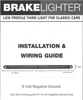 6-Volt Negative Installation Instructions