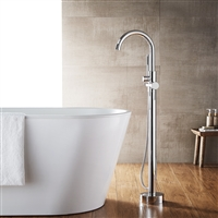 Vinnova Berkeley Freestanding Chrome Tub Faucet with Hand Shower