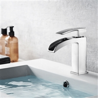 Vinnova Liberty Single-Handle Basin Bathroom Faucet Satin Nickel Finish