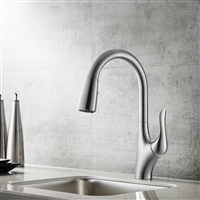Vinnova Sage wood Single-Lever Pull-Out Kitchen Faucet