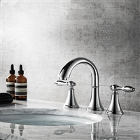 Vinnova Florence Two-Handle 8-Inch Widespread Bathroom Faucet