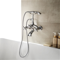 Vinnova Juniper Adjustable-Center Wall-Mount Tub Faucet
