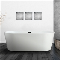 "Vinnova Lumina 68"" x 32"" Soaking Bathtub"