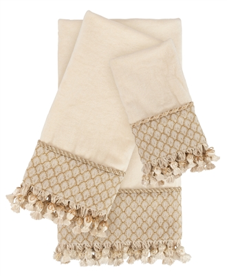Austin Horn Classics Angelina Luxury Embellished Towel Set