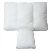 Austin Horn Classics DuPont Sorona® Adjustable Sleeping  Pillow with Neck Support with Sateen Cover
