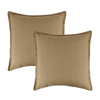 Austin Horn Classics Sunbrella Dupione Bamboo 20-inch Outdoor Pillow (set of 2)