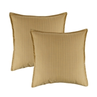 Austin Horn Classics Sunbrella Dupione Cornsilk 20-inch Outdoor Pillow (set of 2)