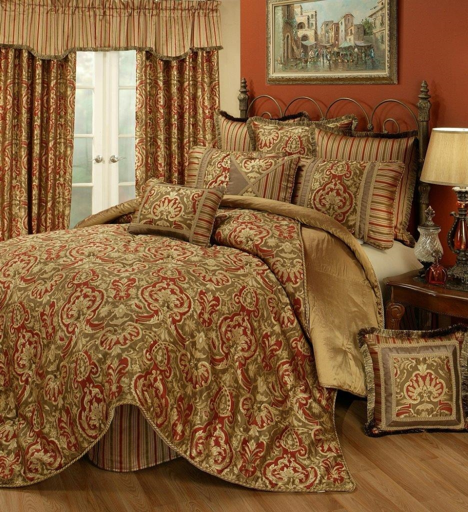 bedding ideas compact info rust decorating set bed for brown sets traditional linearhome colored source comforter