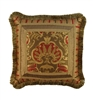 Austin Horn Classics Botticelli Rust 18-inch Square Pillow