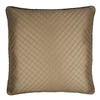 Austin Horn Classics Botticelli Brown Luxury 26-inch Diamond Euro Sham