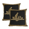 Sherry Kline Cheetah Dynasty 20-inch Decorative Pillows (Set of 2)