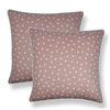 Sherry Kline Clementine Pink 20-inch Decorative Throw Pillow (Set of 2)