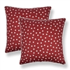 Sherry Kline Clementine Red 20-inch Decorative Throw Pillow (Set of 2)