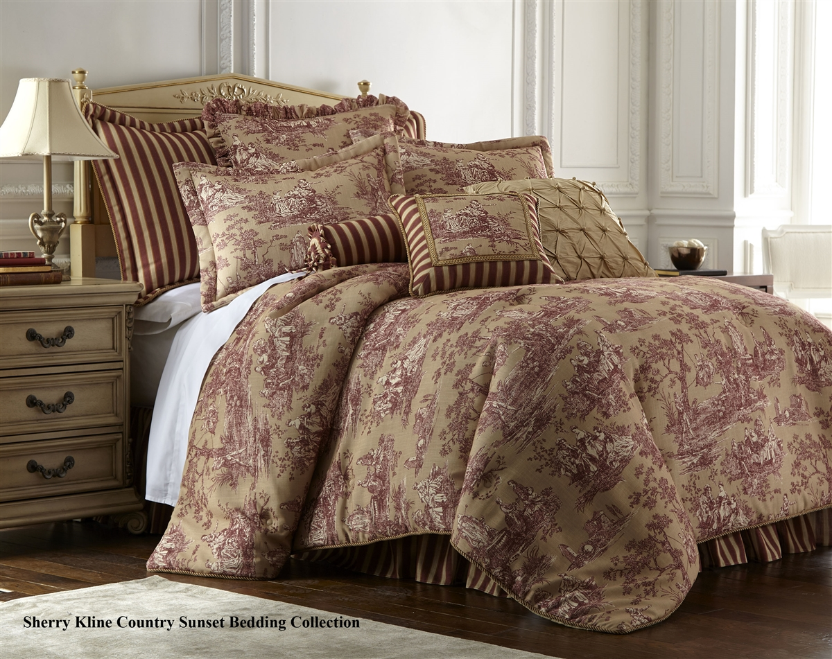 Sherry Kline Country Sunset 4 Piece Comforter Set