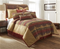 Austin Horn Classics Desert Sunset 3-piece Luxury Comforter Set