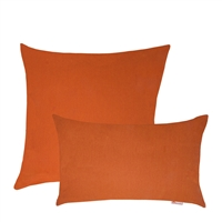 Olivia Quido Sunbrella Spectrum Cayenne Combo Outdoor Pillow 2-pack