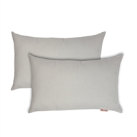 Olivia Quido Sunbrella Spectrum Eggshell Boudoir Outdoor Pillow 2-pack