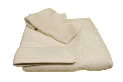 Olivia Quido Zero Twist 3-piece ECRU Towel Set