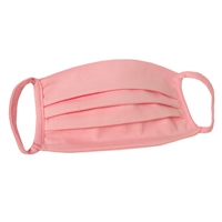 Olivia Quido Washable PINK Jersey Cotton Face Covering (Pack of 6)