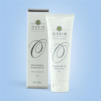 Broad Spectrum Sunscreen SPF 50 with Lilac Stem Cell by O Skin Care