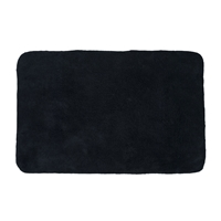 "Sherry Kline Prescott Black 21x34"" Bath Rug"
