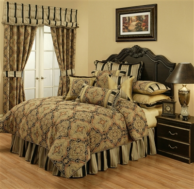 Austin Horn Classics Ravel 3-piece Luxury Comforter Set