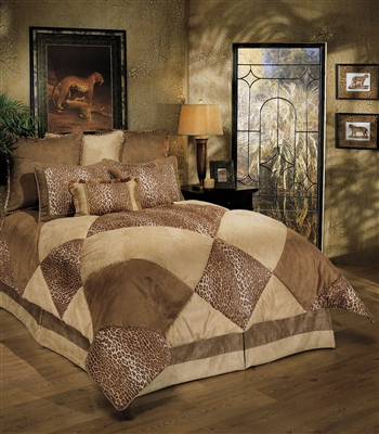 Sherry Kline Safari Royale 3-piece Duvet Set
