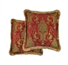 Sherry Kline China Art Red 20-inch Decorative Throw Pillows (Set of 2)
