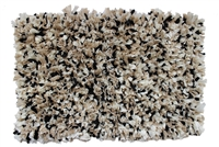 Sherry Kline Angelique Black/Taupe 20 x 32 Bath Rug