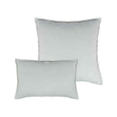 Sherry Kline Lombard Linen White Reversible Combo Pillow