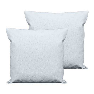 Sherry Kline Orich Faux Leather Dark Ivory 20-inch Decorative Pillow (Set of 2)