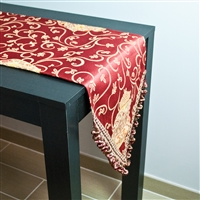 Sherry Kline Amphora Red Table Runner