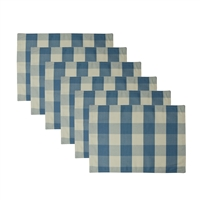 Sherry Kline Picnic Grove Blue Reversible Placemat (6-pk)